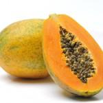 papája exotické ovoce