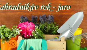 kalendář zahradkáře jaro