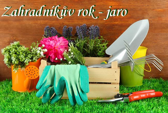 kalendář zahradkaře jaro