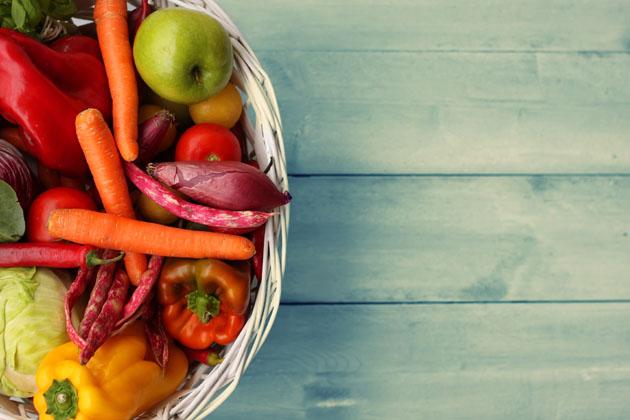 zelenina z truhlíku