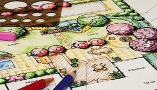 plánování zahrad