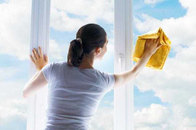 jak mýt okna