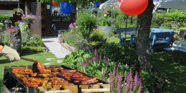 zahradní párty